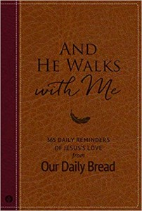And He Walks with Me - Book Cover - Oct 2019 Release