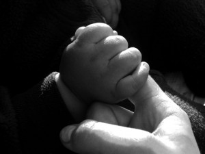 Baby Gripping Finger by LEP 2011
