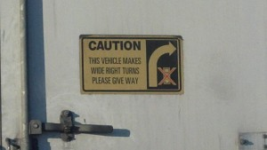 Big Rig Sign