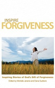 Inspire Forgiveness Book Cover from Inspire Blog