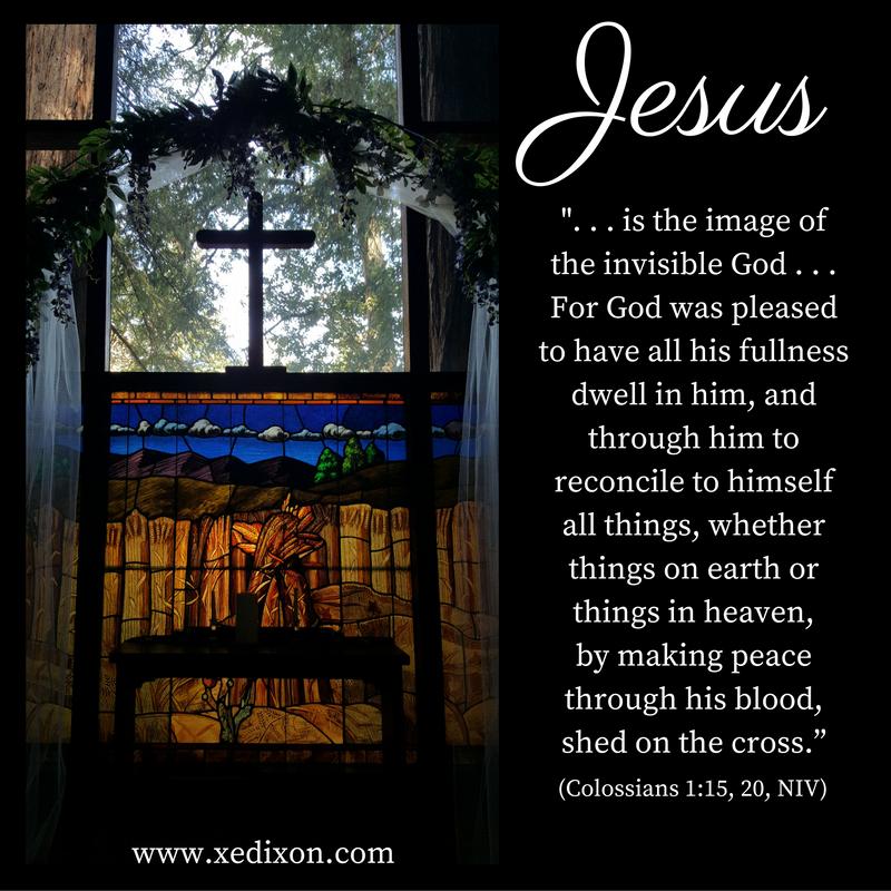 MEME - Colossians 1 v 15, 20