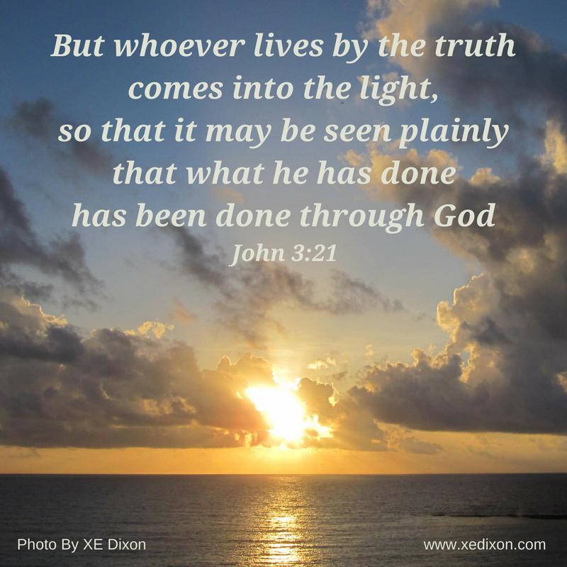 MEME - John 3 v 21