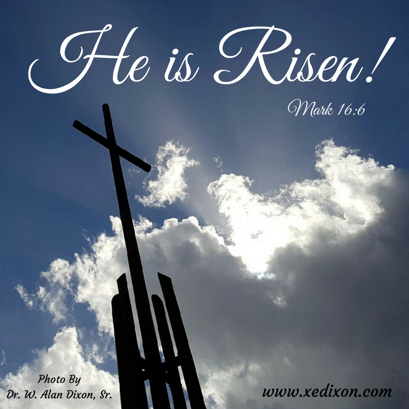 MEME - Mark 16 v 6 - He is Risen! - Photo by Alan