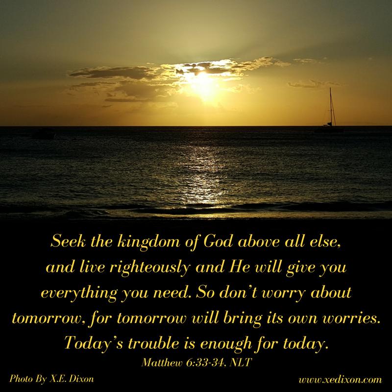 MEME - Matthew 6 vv 33-34