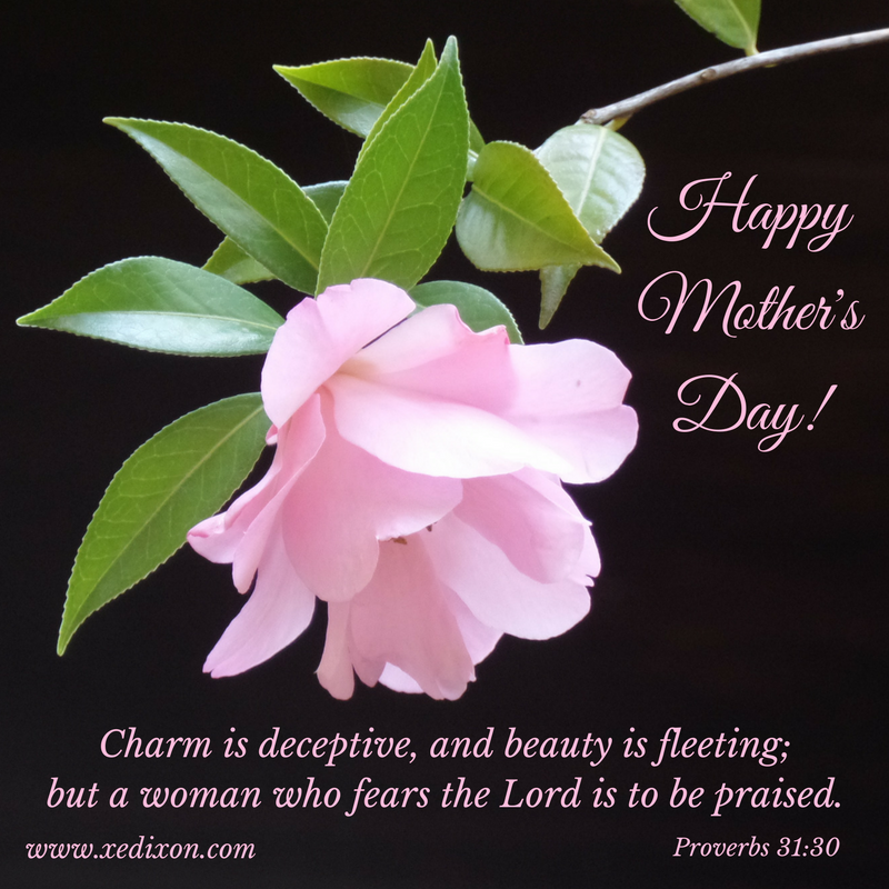 MEME - Proverbs 31 v 30 - Happy Mother's Day