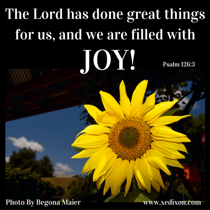 MEME - Psalm 126 v 3 - JOY