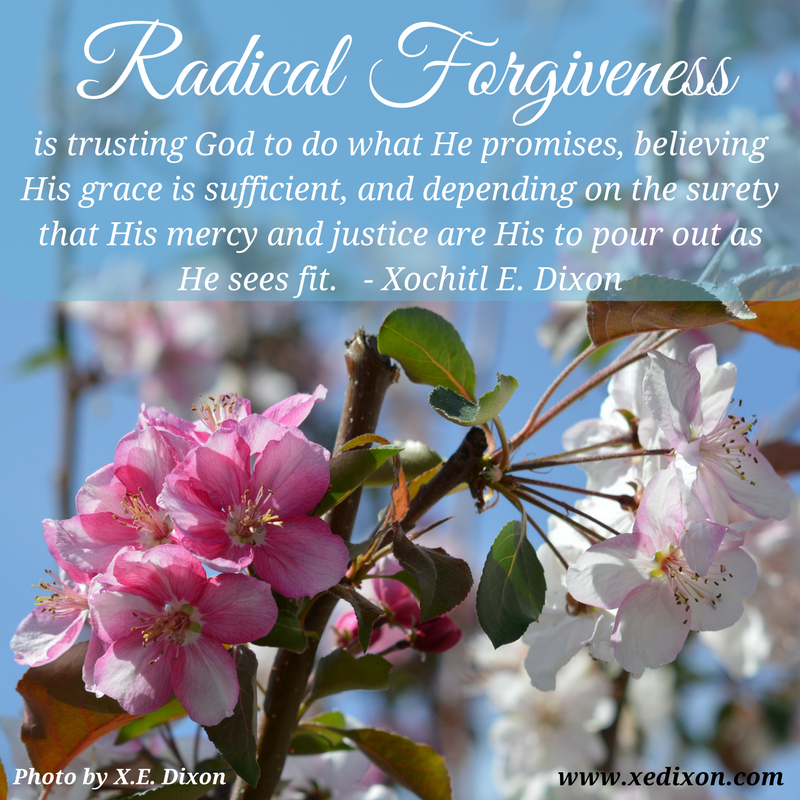 MEME - Radical Forgiveness Trusts God to Pour Out Justice