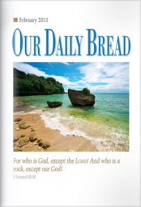 Our Daily Bread Cover Used on Website July 2016