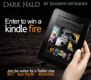 Shannon Dittemore - Kindle Fire Giveaway for Tweet Chat - Aug 2013
