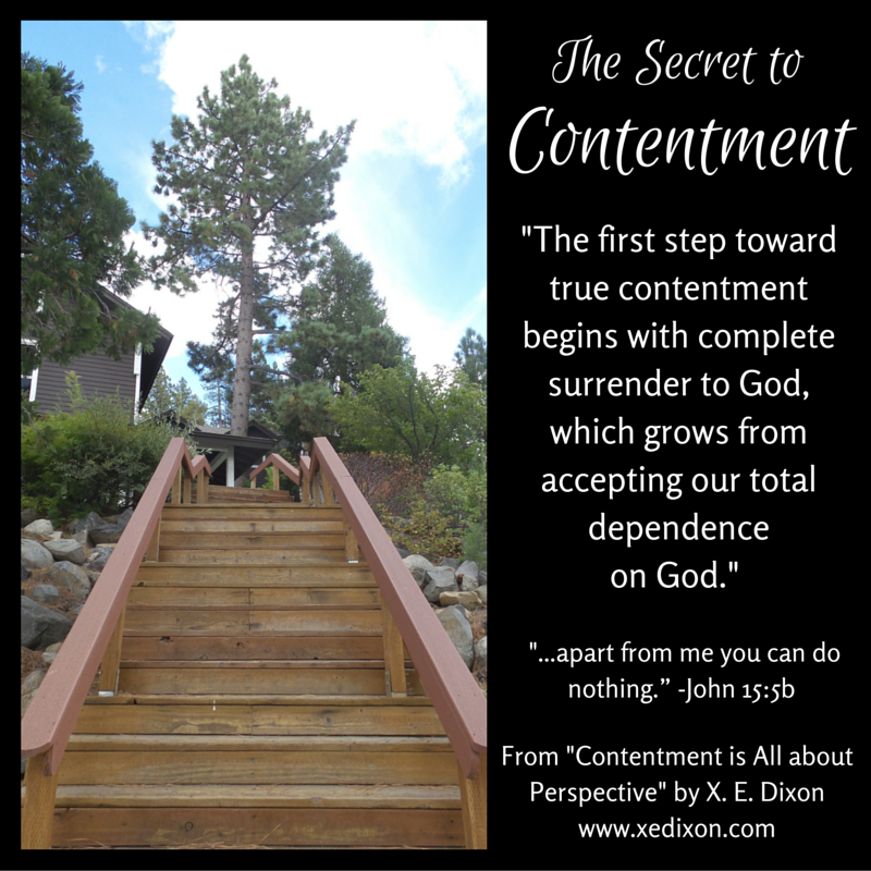 The Secret to Contentment - John 15-5b
